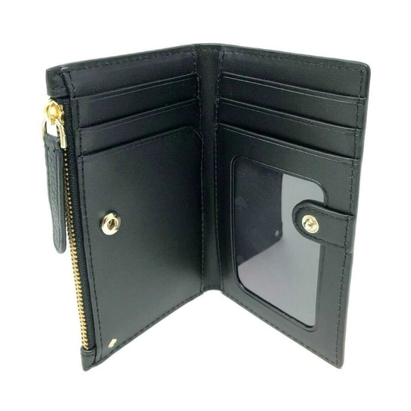 Kate Spade Handbags - Kate Spade Jackson Small Slim Bifold Wallet Black